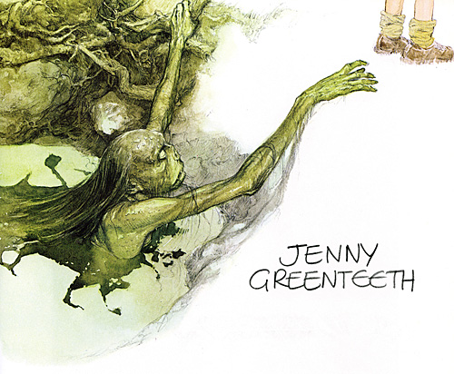 Jenny Greenteeth, by Alan Lee