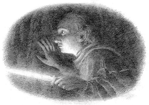 Bilbo with Sting in the dark