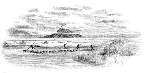Men of Lake-town gathering barrels