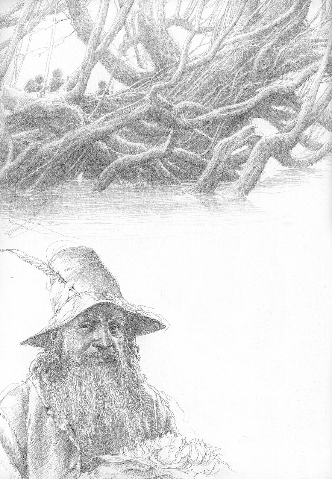 Alan Lee Lord Of The Rings Sketchbook