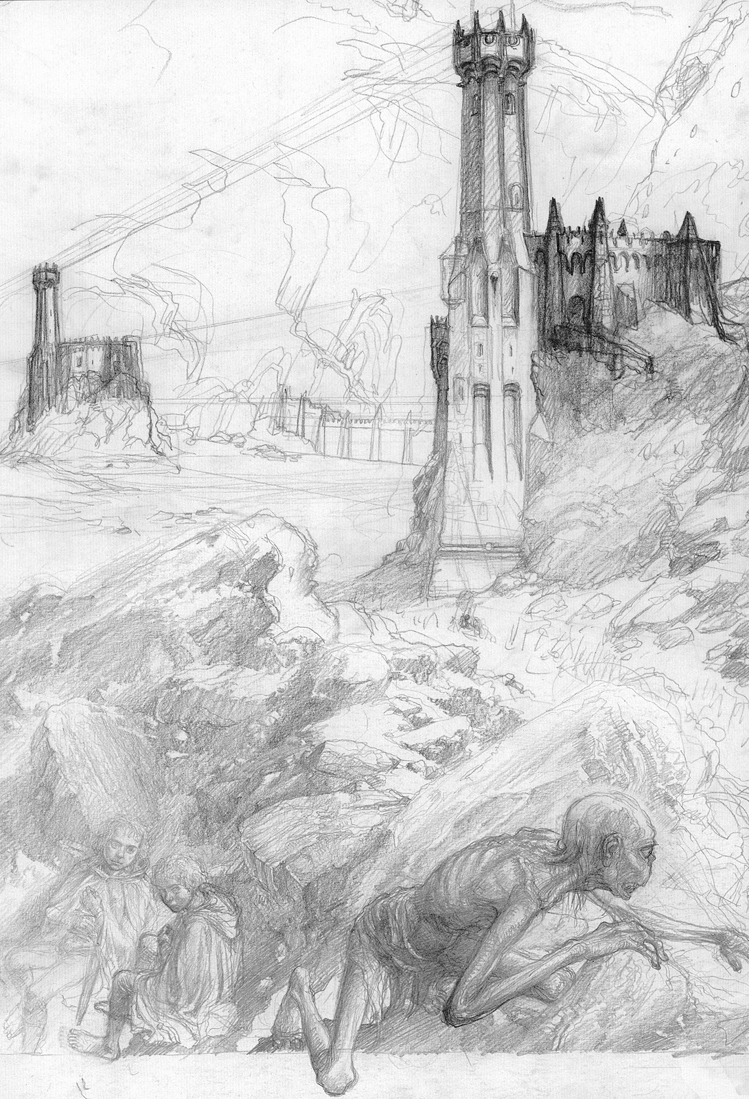 Alan Lee Lord Of The Rings Sketchbook