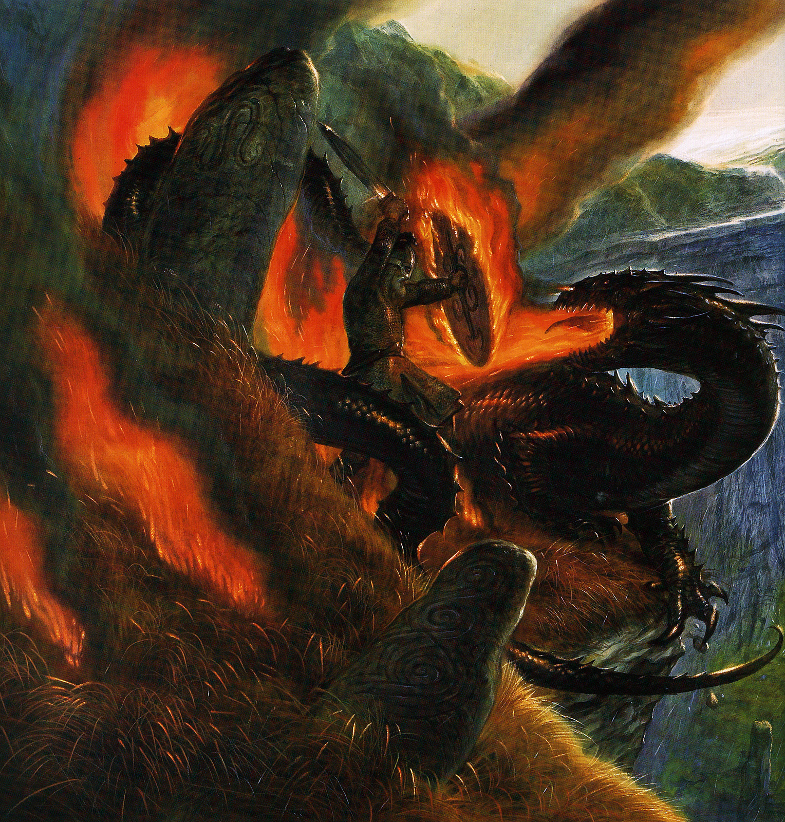 the final battle in the epic of beowulf Summary of the last battle knowledge and understanding of the heroic ideal as it applies to beowulf elements of the epic poem in beowulf.