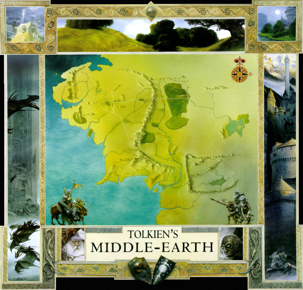 map of middle earth click here for the full size image 1006x965324kb
