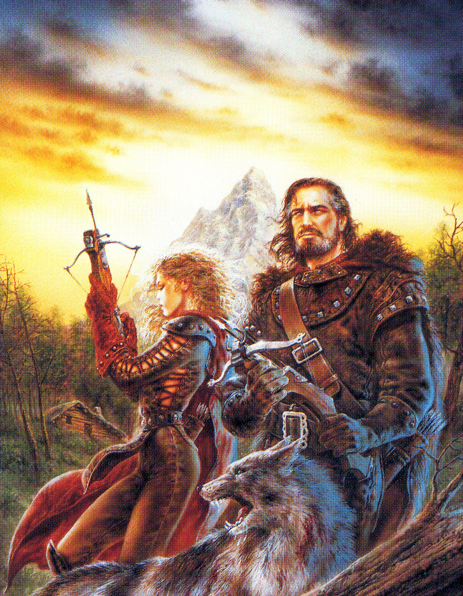 David Gemmell Book Cover Art : Click here for the full size image kb