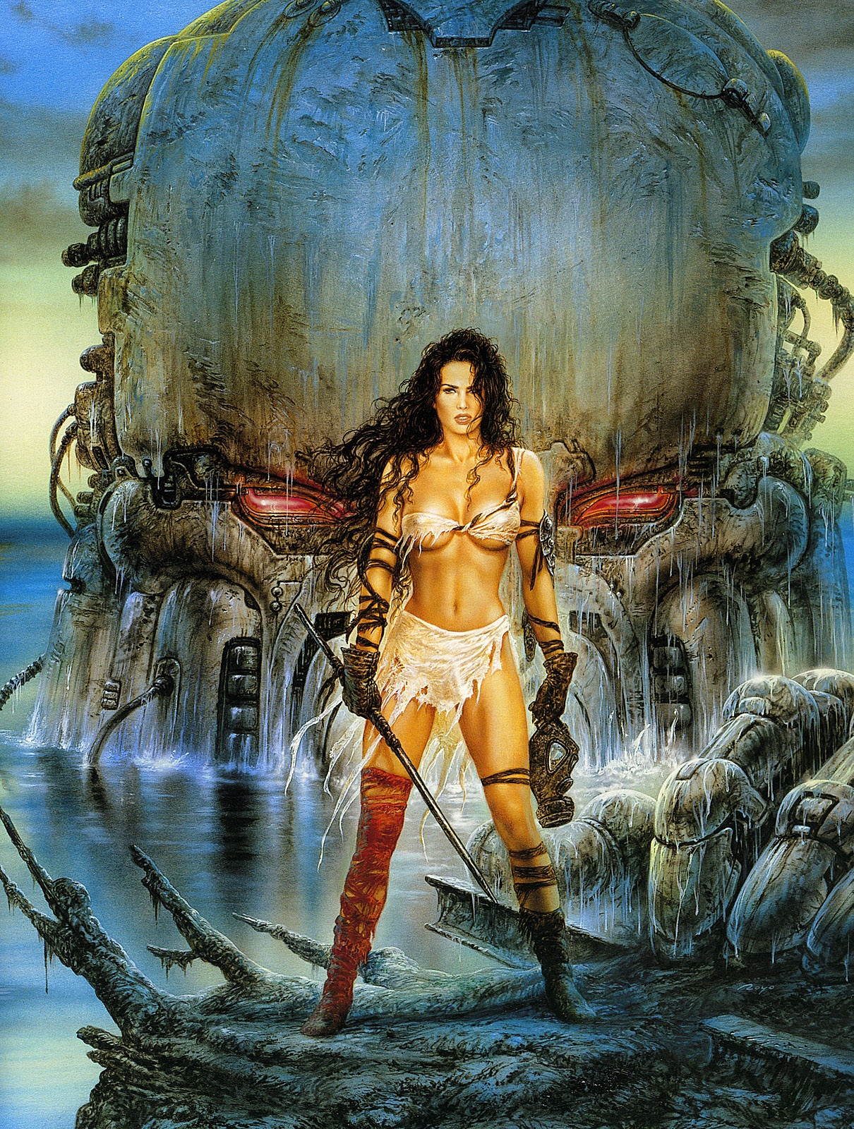 Excellent luis royo heavy metal ready help