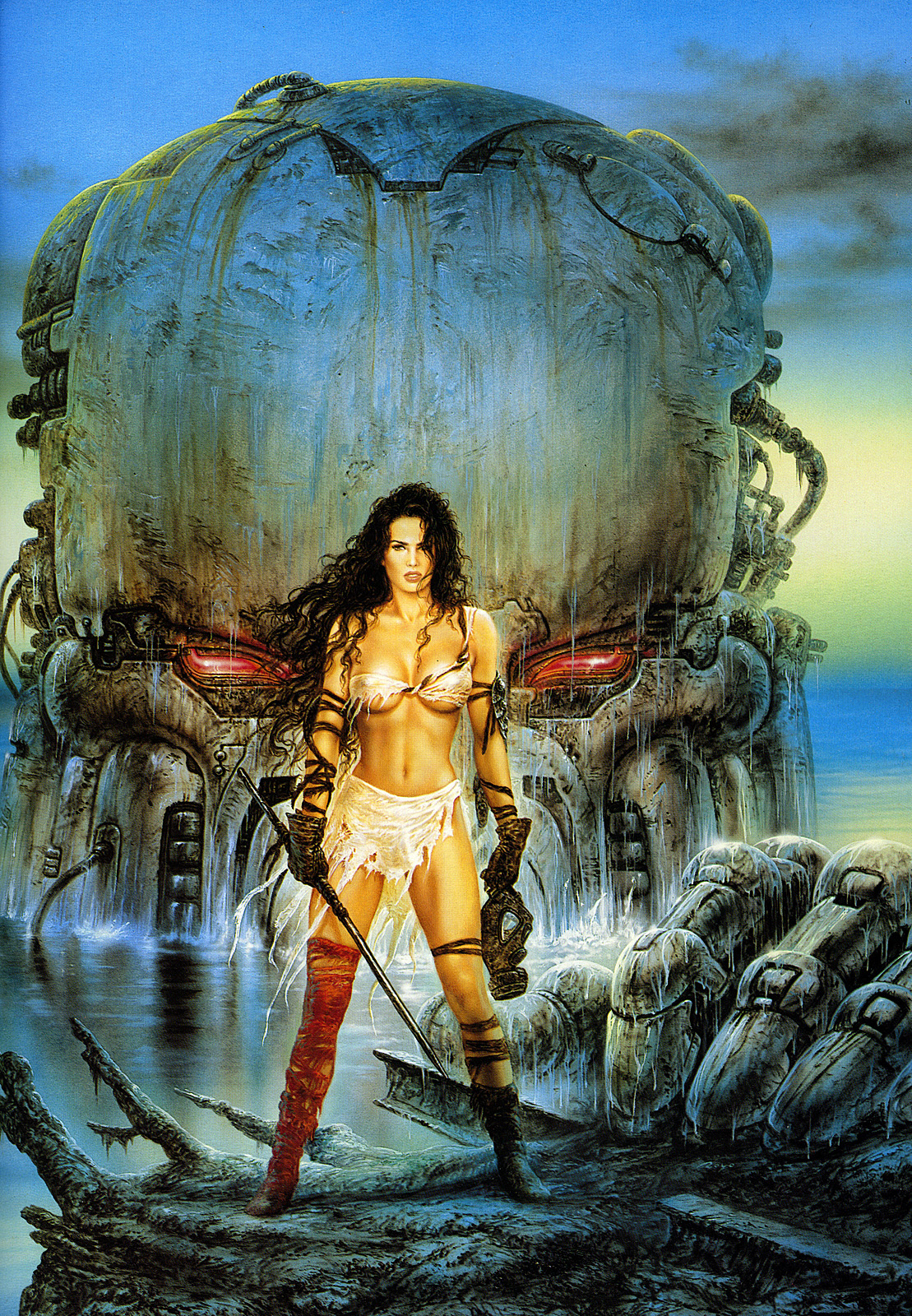 Amazons and monsters porncraft image