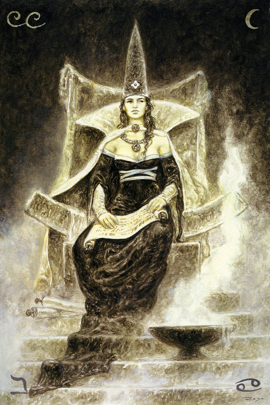 Priestess erotic tube
