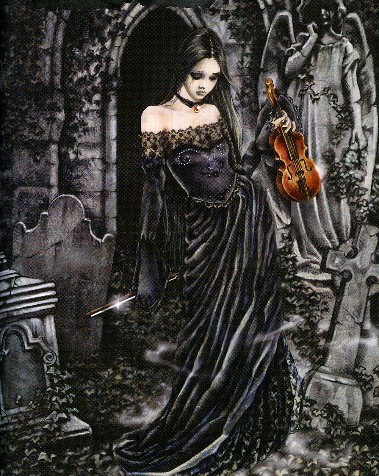 1000 images about victoria francis on pinterest gothic art vampire art and gary oldman. Black Bedroom Furniture Sets. Home Design Ideas